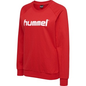 BLUZA DAMSKA HMLGO COTTON LOGO SWEATSHIRT WOMAN